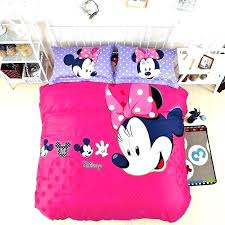 minnie comforter queen size mouse bedding sets mickey and comforter set mouse bed set full amazing