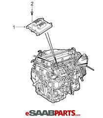 32019553 saab ecu ecm engine computer 2003 2006 9 3 2 0t b207 diagram image 1