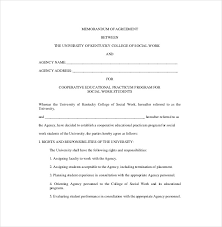 13+ Memorandum Of Agreement Templates - Pdf, Doc | Free & Premium ...
