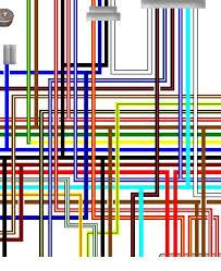 yamaha xj550 xj600 xj650 colour wiring loom diagrams yamaha xj650 rj 1980 uk spec colour wiring diagram