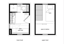 Small Picture 52 Micro House Floor Plans Jay Shafer And His Tiny House Plans