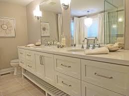 open bathroom vanity cabinet:  sinks open vanities for bathrooms rectangle long white stained wooden bathroom vanity cabinet having d