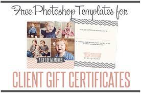 Free Gift Certificate Photoshop Templates From Birdesign Flourish
