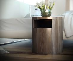 bedroom modern round nightstand petsadrift pertaining to round night stand renovation