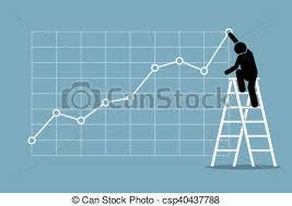 Businessman Growth Chart