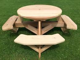 round cedar picnic table best sealer for cedar picnic table round cedar picnic table plans