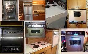 vintage stoves refrigerators