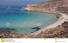 Isola Dei Conigli Lampedusa Italy Stock Photo Image Of Palm