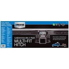 Reese Trailer Hitch Application Chart Reese Towpower 37042 Class Iii Multi Fit Receiver Hitch With