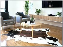 faux animal rugs ikea cowhide rug fancy
