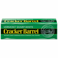 sharp white cheddar. cracker barrel vermont sharp white cheddar cheese