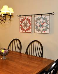 Best 25+ Quilt hangers ideas on Pinterest | Hanging quilts, Quilt ... & I really like the 2 quilts hanging on the black metal bar. Flea Market  Fancy quilt wall hangings by Fabric Warrior - Love them! Adamdwight.com