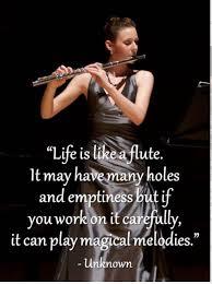 Life Is Like A Flute Querflöte Musik Sprüche Flöte Und Musik