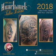 Gallery Heartwork Tattoo Festival 2018 In New Delhi India
