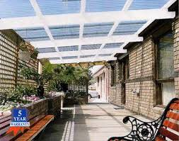 sunclear roofing by ampelite makes light work pergola with clear roof96