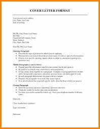 Formal Covering Letter Format 9 Formal Cover Letter Format Mael Modern Decor