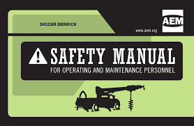 Safety Manual AEM Updates Digger Derrick Safety Manual 14