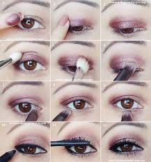 plum gold eye makeup tutorial