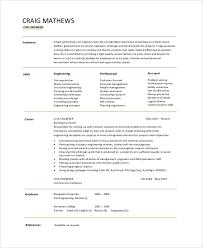Cv Samples For Engineering Students Engineering Cv Under Fontanacountryinn Com