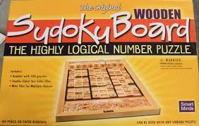 Wooden Sudoku Game Board Amazon The Original Wooden Sudoku Board by Smart Minds Toys 11