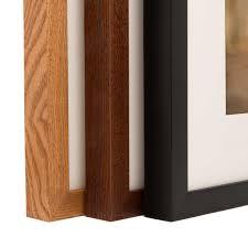 framed matted print