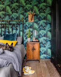 Slaapkamers En Interieurs Met Tropisch Behang Archananl