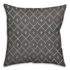 green and gray pillows. Fine And Metallic Diamonds 16Inch Square Throw Pillow In GreyGreen With Green And Gray Pillows I