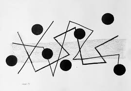 Easy way to draw dotted lines using the brush tip shape option.more tutorials available here: Dots And Lines Iii Drawing By Victor Tarrago Saatchi Art