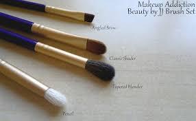 sparkleoflight makeup addiction beautybyjj beauty by jj brush set eye pencil tapered blender clic shader angled brow