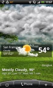 animated weather wallpaper for android