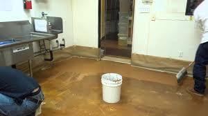 Commercial Kitchen Flooring Semco Case Study Commercial Kitchen Remodel Floors V2 Youtube