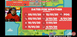 Date And Time For Foggy Weather Pokemon Sword