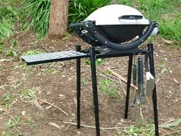 Outback BBQ Stands Weber Baby Q Camping Stand Folding Collapsible