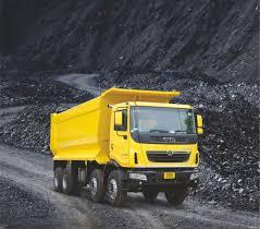 tata motors new trucks at excon 2016 prima 3138 k coal
