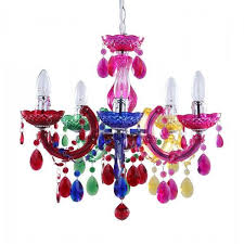 multi coloured chandelier marie therese colourful chandeliers