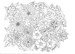 Flower Garden Coloring Pages F5to Informative Flower Garden Coloring