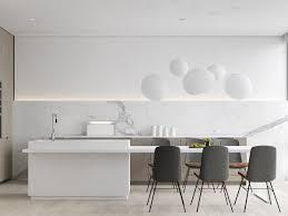 Modern White Kitchens That Exemplify Refinement - White contemporary kitchen