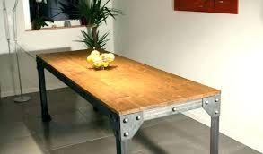 Table Cuisine Originale Table Salle A Manger Style Industriel Table