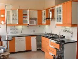 new kitchen furniture. The New Kitchen Design Combination Of ARTIC WHITE AND ORANGE GLOW Furniture