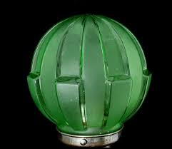 miscellaneous lamps art deco pressed glass lamp shade