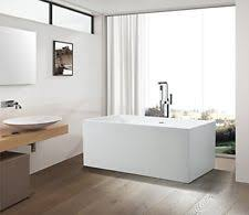 59 or 67 vanity art bathroom freestanding acrylic soaking bathtub va6813b
