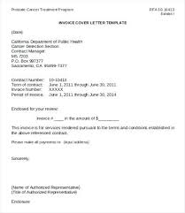 Sample Invoice Letters Invoice Cover Letter Sample Invoice Cover Letter Template Invoice