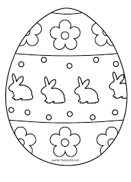 Colouring Pages Easter Egg Coloring Printable Free Page 5 Eggs Games