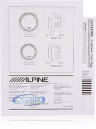 alpine type r swr t12 1800w peak 12\