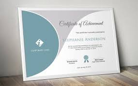 Corporate Certificate Template Beauteous Curve Corporate Business Certificate Template For MS Word Etsy