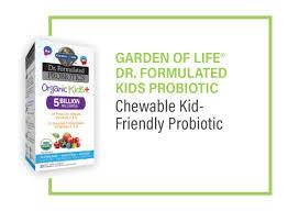 garden of life dr formulated kids probiotic