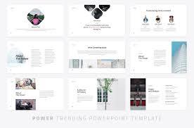 Ppt Template Design Free Modern Powerpoint Template Presentation Templates Creative Market