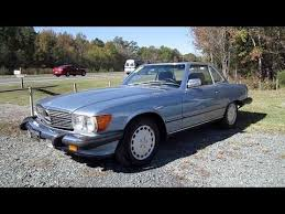 One of the longest production runs in mercedes the 560 series is the culmination of all production refinements and were produced from 1986 to 1989. 1987 Mercedes Benz 560sl Start Up Engine And In Depth Tour Youtube