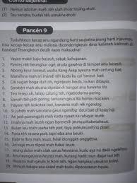 Jawaban yang tepat untuk melengkapi ruang rumpang pada reportase di atas ialah … a. Jawaban Pancen 9 Bahasa Sunda Kelas 8 Hal 76 Brainly Co Id