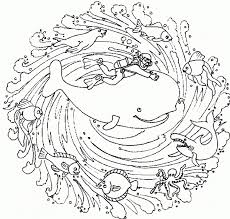 This is a great collection of mandalas coloring pages. Animal Mandala Coloring Pages Free Printable Coloring Home
